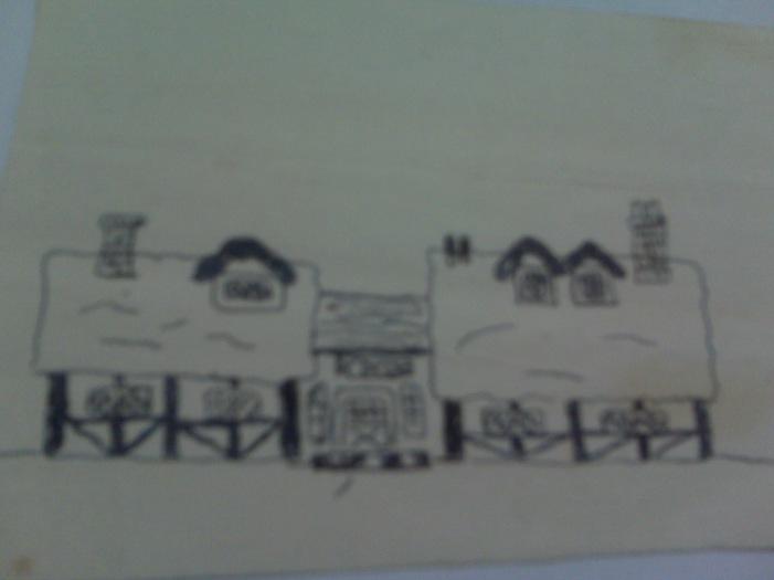 Lavenham House Drawing