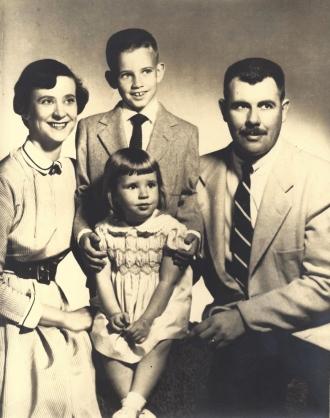 Wentz, WB 1950s Family