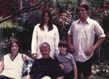 Wentz, WB 1970s Family