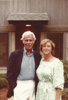 Wentz, WB 1980s with Bettie - HiltonHead, SC