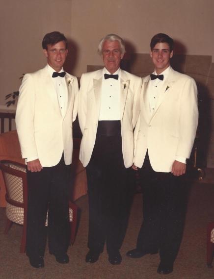 Wentz, WB 1982 with Kurt and Peter